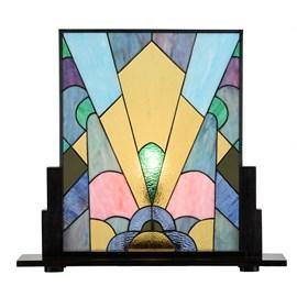 Coloured French Art Deco Tiffany Panel