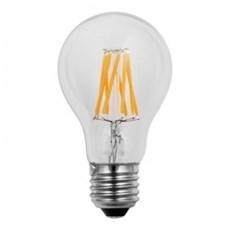 Wiva Wire Led Bulb Lamp 6W E27 2500K Clear 580 Lumen 10 pieces