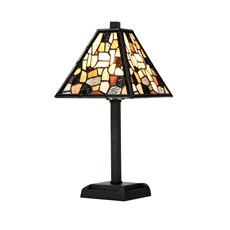 Tiffany Mini Table Lamp Fallingwater