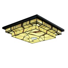 Tiffany Ceiling Lamp Mission Style LED