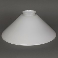 Glass Lampshade Cono 350 Opal White Fit 6