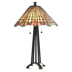 Tiffany Table Lamp Plissé