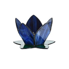 Tiffany Tea Light Holder Sweet Lotus
