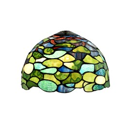 Glass Lampshade Tiffany Hydrangea