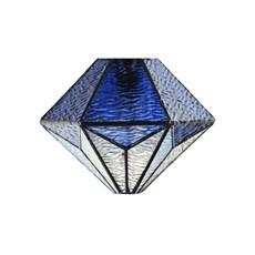 Glass Lampshade Tiffany Akira Blue