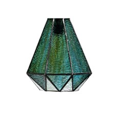 Glass Lampshade Tiffany Arata Green