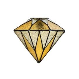 Glass Lampshade Tiffany Aiko Yellow