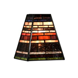 Glass Lampshade Tiffany Industrial small