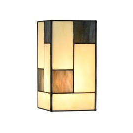 Seperate Glass Lampshade Tiffany Mondriaan small