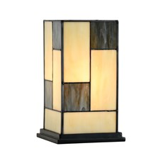 Tiffany Table Lantern Mondriaan