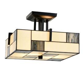 Tiffany Ceiling Lamp Mondriaan