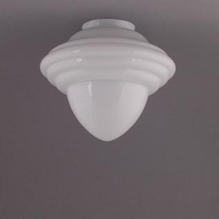 voorbeeld van een van onze Glass shade Fit 10 cm