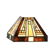 Tiffany Seperate Glass Lampshade Rising Sun small