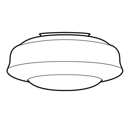 Glass Lampshade Saucer