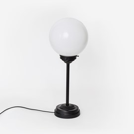 Slim Table Lamp Globe Ø20 Moonlight