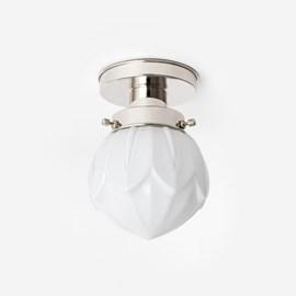 Ceiling Lamp Lotus 20's Nickel