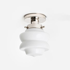 Ceiling Lamp Small Top 20's Nickel