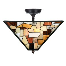 Tiffany Extended Ceiling Lamp Fallingwater