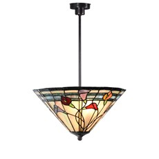 Tiffany Angular Pendant Light Calla