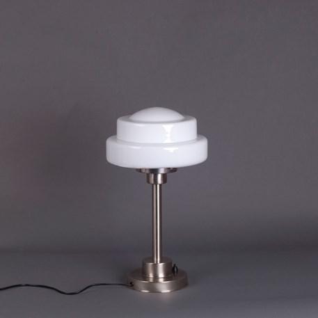 Table Lamp Semi-Round Stepped Globe