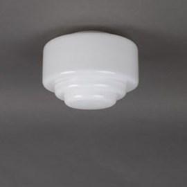 Glass Lampshade Stepped Ø 20 cm