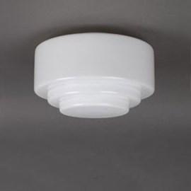 Glass Lampshade Stepped Ø 25 cm