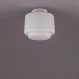 voorbeeld van een van onze Glass shade Fit 8 cm