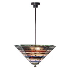 Tiffany Angular Pendant Lamp Industrial large