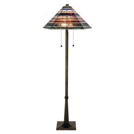 Tiffany Floor Lamp Industrial large