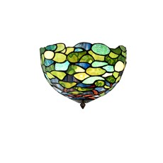 Tiffany Ceiling Lamp Hydrangea