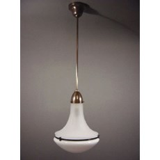 Wissmann Lamp in Opal and/ or Etched Glass