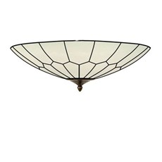 French Art Deco Tiffany Ceiling lamp Gatsby short