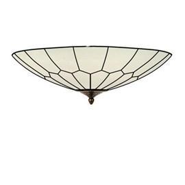French Art Deco Tiffany Ceiling lamp Gatsby