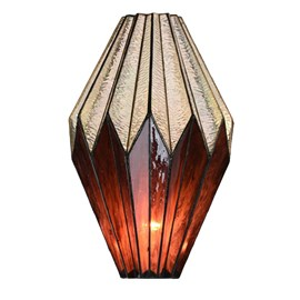 Seperate Glass Lampshade Tiffany Origami