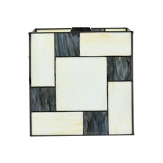 Seperate Glass Lampshade Mondriaan Cubic