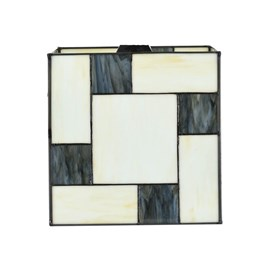 Seperate Glass Lampshade Mondriaan Cubic
