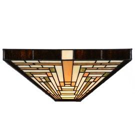 Seperate Glass Lampshade Tiffany Rising Sun