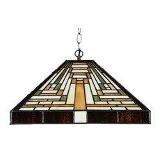 Tiffany Pendant Lamp Rising Sun