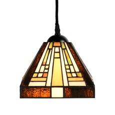 Tiffany Pendant Lamp Rising Sun small