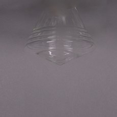 Glass Lampshade School  de Luxe small Transparent