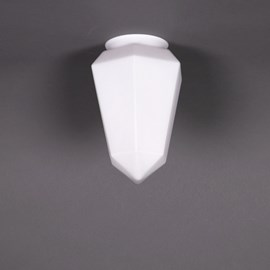 Glass Lampshade Brilliant Matte Opal