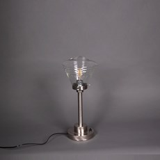 Table Lamp School de Luxe small Transparent