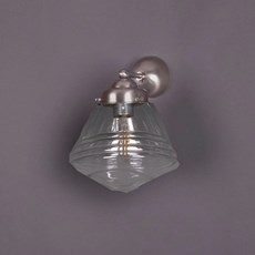 Wall Lamp School de Luxe small Transparent