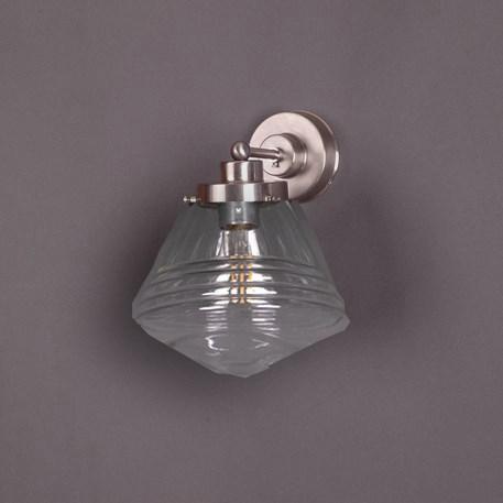 Wall Lamp School de Luxe small Transparent