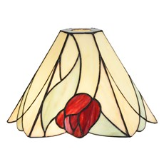 Separate Glass Lamphade Tiffany Tulip