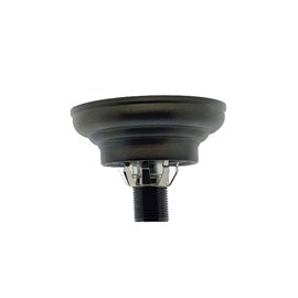 Rounded Ceiling Fixture with Clip for closed glass/Tiffany shades.