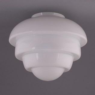 voorbeeld van een van onze Glass shade Fit 15 cm
