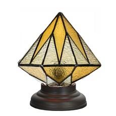 Low Tiffany Table Lamp Aiko Yellow