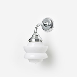 Wall lamp Small Top Curve Chrome