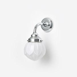 Wall lamp Lotus Curve Chrome